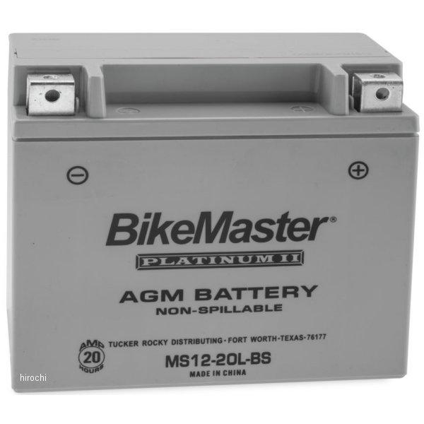 【USA在庫あり】 バイクマスター BikeMaster AGM バッテリー YTX20L-BS互換 780726 HD店