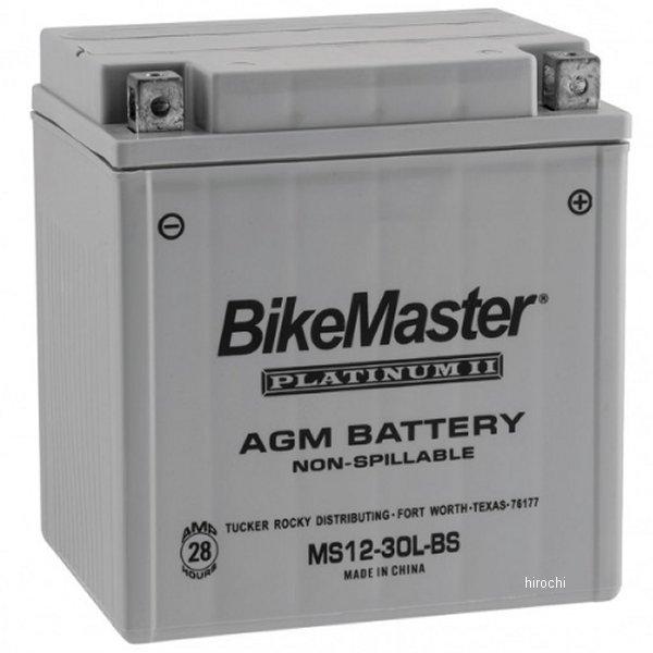 【USA在庫あり】 バイクマスター BikeMaster AGM バッテリー YTX30L-BS互換 780728 HD店