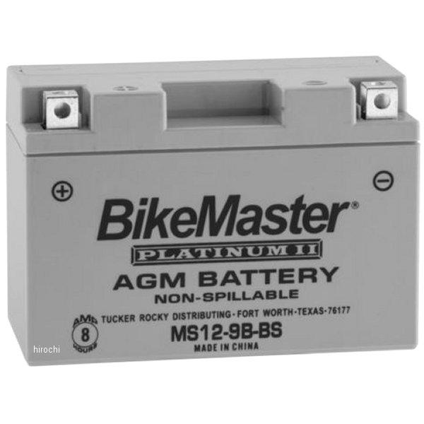 【USA在庫あり】 バイクマスター BikeMaster AGM バッテリー YT9B-BS互換 780744 HD店