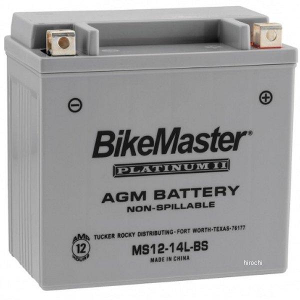 【USA在庫あり】 バイクマスター BikeMaster AGM バッテリー YTX14L-BS互換 780756 HD店