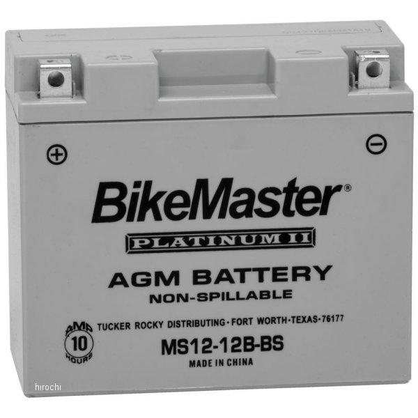 【USA在庫あり】 バイクマスター BikeMaster AGM バッテリー YT12B-BS互換 780762 HD店