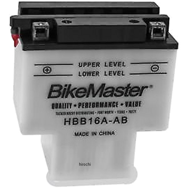 【USA在庫あり】 バイクマスター BikeMaster バッテリー 781093 HD店