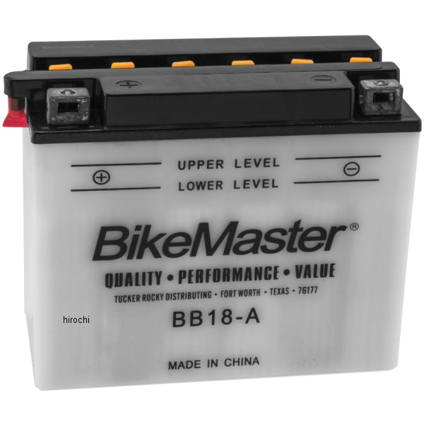 【USA在庫あり】 バイクマスター BikeMaster BB18-A バッテリー 781144 HD店