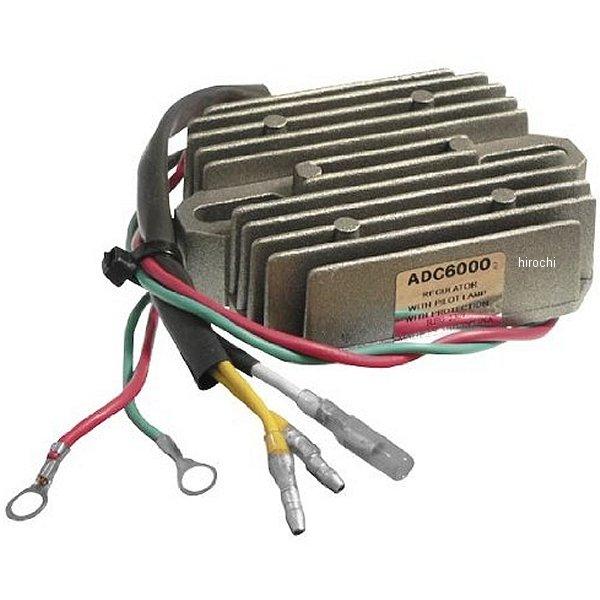 【USA在庫あり】 アローヘッドエレクトリカル Arrowhead Electrical ボルテージ レギュレーター 81年-91年 ホンダ、カワサキ 463903 HD店