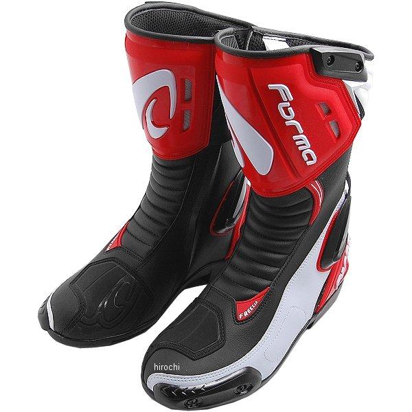 フォーマ FORMA ブーツ FRECCIA 黒/白/赤 40サイズ(25.5cm) 8052998017807 HD店