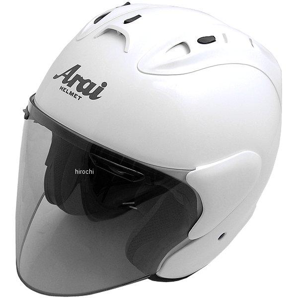 ホンダ純正 春夏モデル Honda×Arai ジェットヘルメット SZ-Ram4 パールサンビームホワイト Sサイズ 0SHGK-JRA4-W HD店