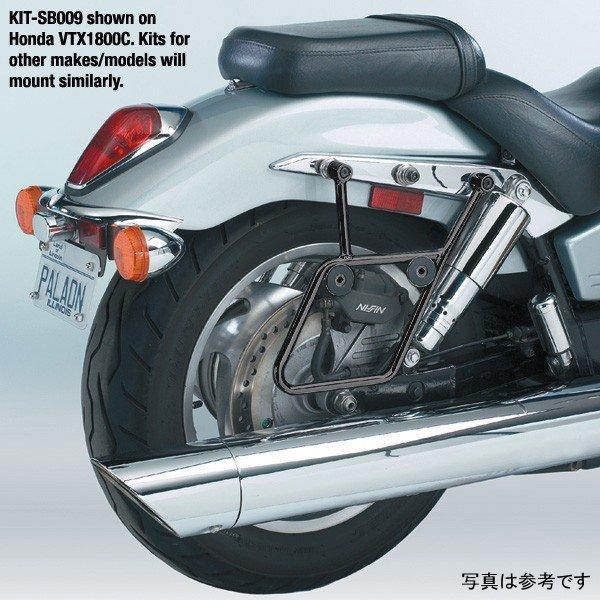 【USA在庫あり】 ナショナルサイクル National Cycle ブラックマウントキット クルーズライナー 97年-07年 シャドウ VT1100C 551107 HD店