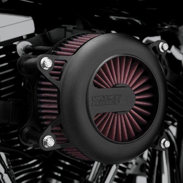 【USA在庫あり】 バンス&ハインズ VANCE & HINES エアークリーナー Rogue 01年-17年 Twin Cam 黒 VH7122 HD店