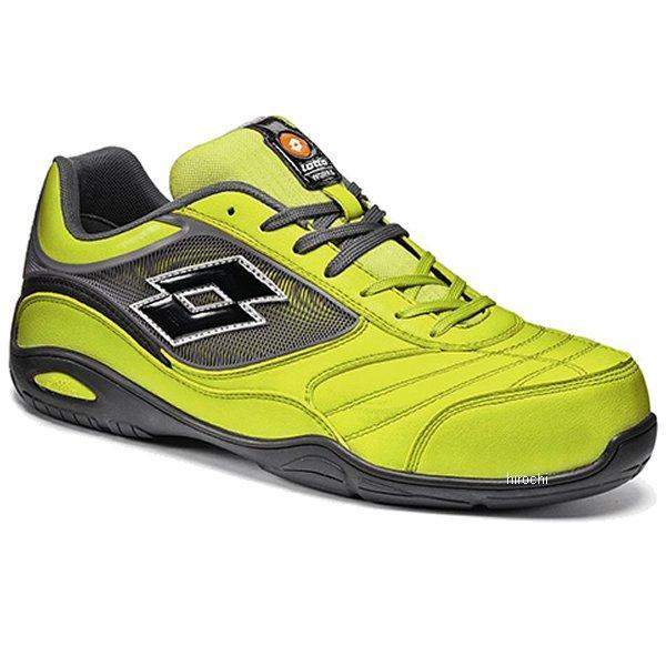 LQ8410 ロット Lotto プロテクティブスニーカー(安全靴) リザードグリーン グラファイトブラック 25.5cm lq8410-25-5 HD店