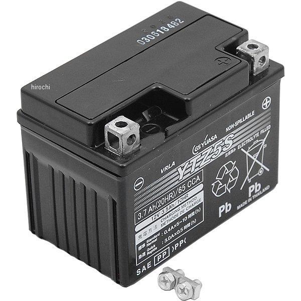 GSユアサ MFバッテリー 制御弁型 12V(液入り充電済) YTZ5S HD店