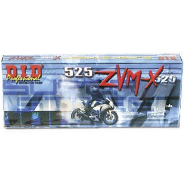 【USA在庫あり】 DID 大同工業 チェーン 525ZVM-X ゴールド 120L カシメ 122636 HD店
