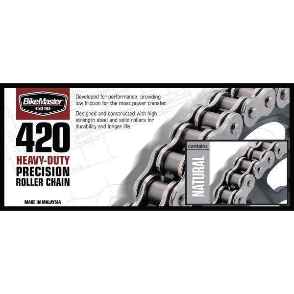 【USA在庫あり】 420H バイクマスター BikeMaster チェーン 420H ヘビーデューティー ナチュラル 25フィート(7.6m) 197593 HD店