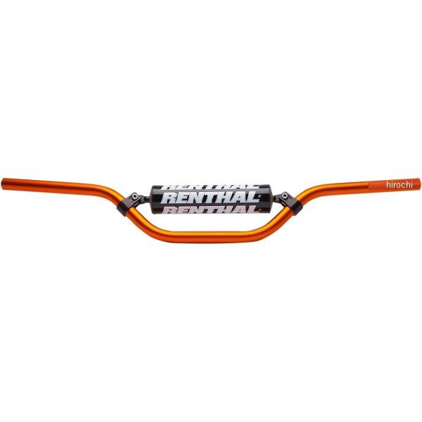 【USA在庫あり】 レンサル RENTHAL ハンドルバー 7/8インチ(22mm) 12年-14年 KTM 50 SX オレンジ 808028 HD店