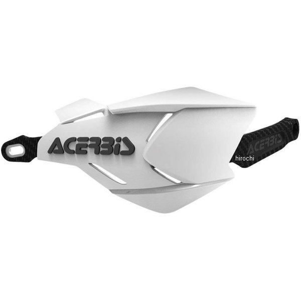 【USA在庫あり】 アチェルビス ACERBIS ハンドガード X-FACTORY 白/黒 731761 HD店