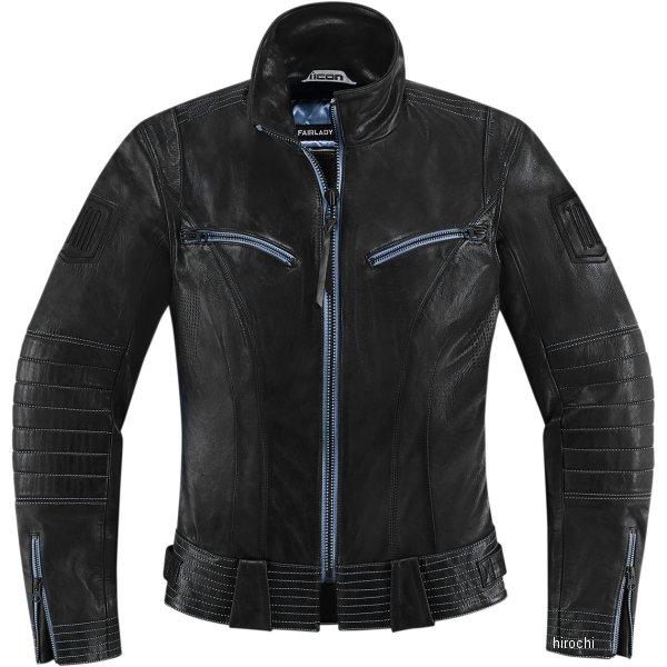アイコン ICON レザージャケット ICON 1000 FAIRLADY レディース 黒 XSサイズ 2813-0550 HD店