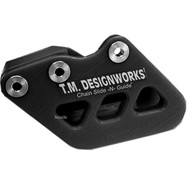 【USA在庫あり】 T.M デザインワークス T.M DESIGNWORKS チェーンガイド リア ファクトリーエディション1 93年-04年 CR125R 黒 971079 HD店