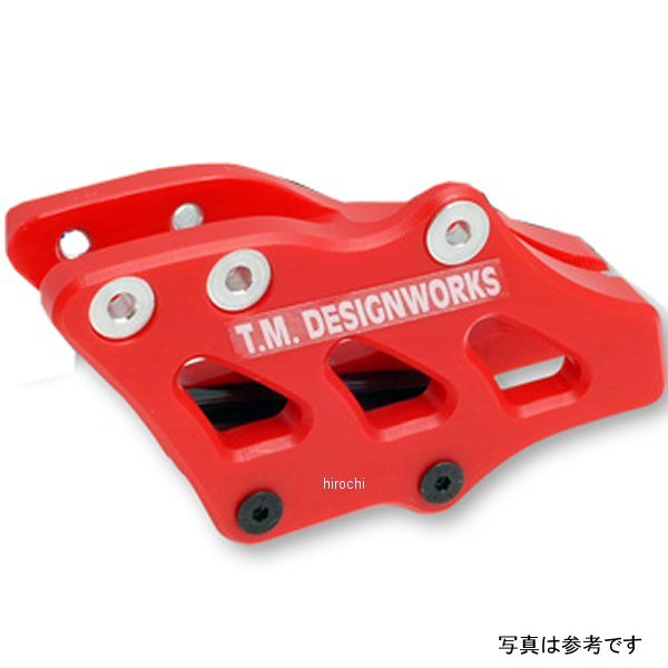 【USA在庫あり】 T.M デザインワークス T.M DESIGNWORKS チェーンガイド リア ファクトリーエディション2 07年-13年 WR250F 青 971867 HD店