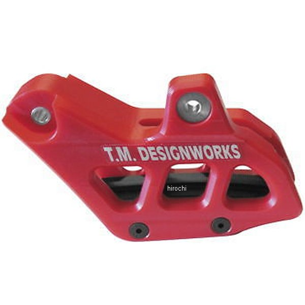 【USA在庫あり】 T.M デザインワークス T.M DESIGNWORKS チェーンガイド リア ファクトリーエディション2 13年 Beta 250 RR 赤 972238 HD店
