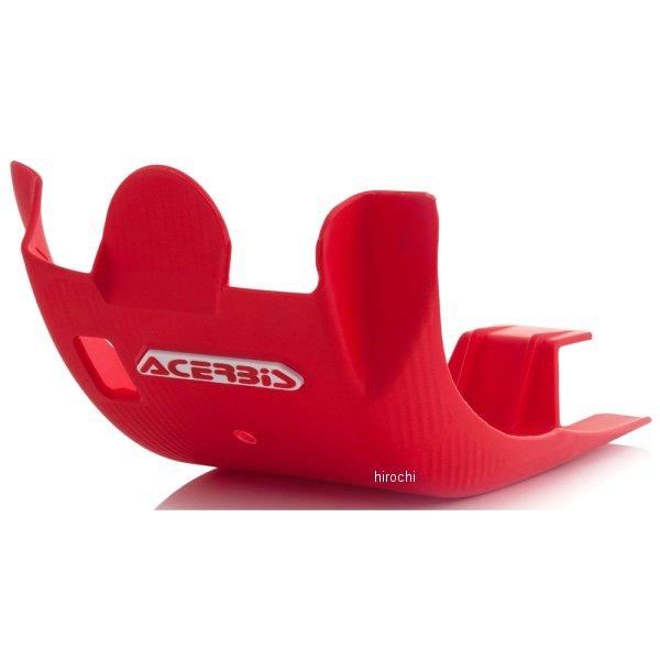 【USA在庫あり】 アチェルビス ACERBIS スキッドプレート 17年以降 ホンダ CRF450R 赤 732213 HD店