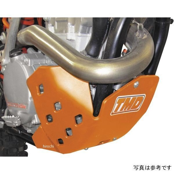 【USA在庫あり】 T.Mデザインワークス TM Designworks スキッドプレート 17年以降 KTM 250XC、300XC-W オレンジ 972376 HD店