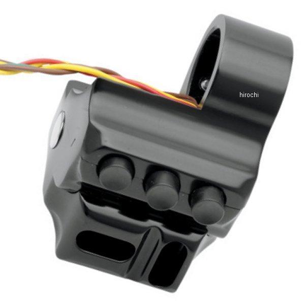 【USA在庫あり】 パフォーマンスマシン スイッチハウジング 5ボタン ブレーキ側 96年-13年 FLH 黒 PM3081 HD店