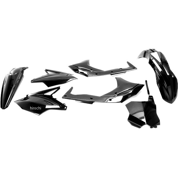 【USA在庫あり】 ユーフォープラスト UFO PLAST 外装キット 18年 KX450F、KX250 黒 1403-2392 HD店