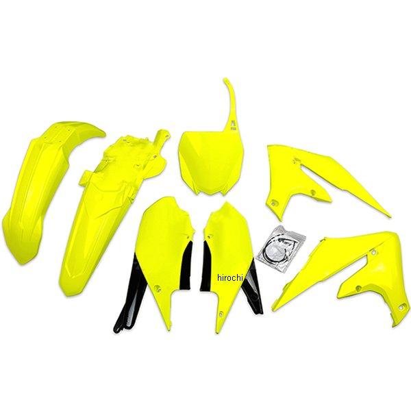 【USA在庫あり】 ユーフォープラスト UFO PLAST 外装キット YAMAHA NEON YEL 124551 HD店