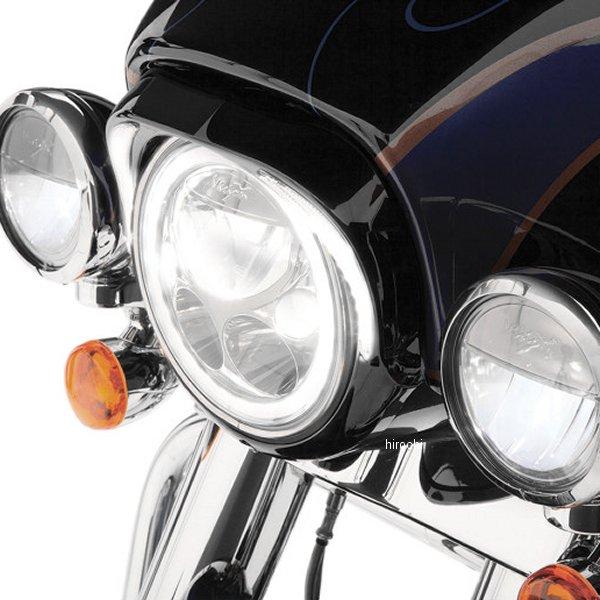 【USA在庫あり】 チロ CIRO ヘッドライトべセル 7インチ用 96年-13年 FLH 黒 2001-1364 HD店
