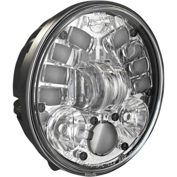 【USA在庫あり】 JWスピーカー J.W. Speaker LED ヘッドライト 5.75インチ ペディスタルマウント H4 8691 クローム 2001-1371 HD店