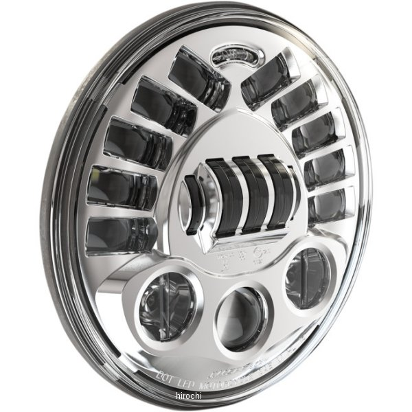 【USA在庫あり】 JWスピーカー J.W. Speaker LED ヘッドライト 7インチ H4 8790M クローム 2001-1419 HD店