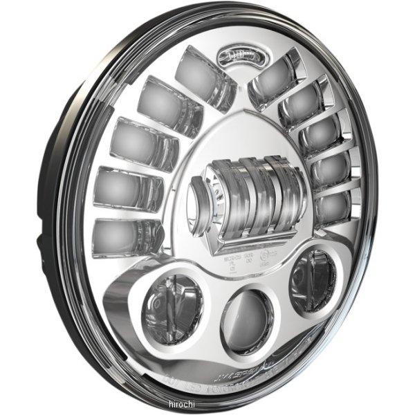 【USA在庫あり】 JWスピーカー J.W. Speaker LED ヘッドライト 7インチ 8791M クローム 2001-1421 HD店