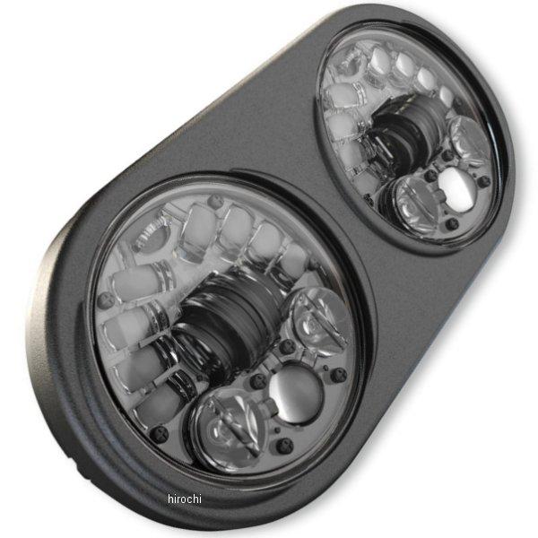 【USA在庫あり】 JWスピーカー J.W. Speaker LED ヘッドライト 5.75インチ H4 8692 黒 2001-1497 HD店