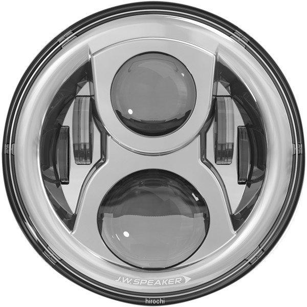 【USA在庫あり】 JWスピーカー J.W. Speaker LED ヘッドライト 7インチ EVO2 デュアルバーン 8700 リング無し クローム 2001-1547 HD店