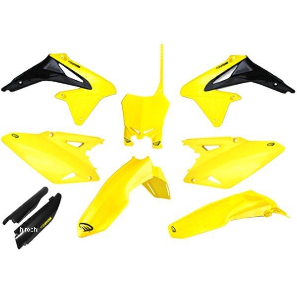 【USA在庫あり】 サイクラ CYCRA 外装キット P-FLOW 08年-16年 RM-Z450、RM-Z250 黄色 1403-2278 HD店