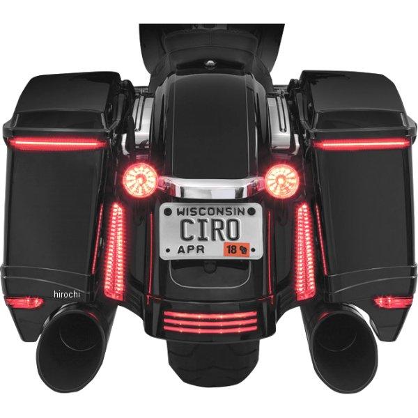 【USA在庫あり】 チロ CIRO LEDウインカー サドルパック用 14年以降 FLH アンバーコントローラー付き 2040-2011 HD店