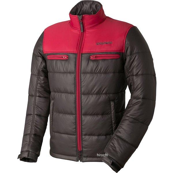 ゴールドウイン GOLDWIN 秋冬モデル ウォームキルトジャケット 赤/チャコール BLサイズ GSM22758 HD店