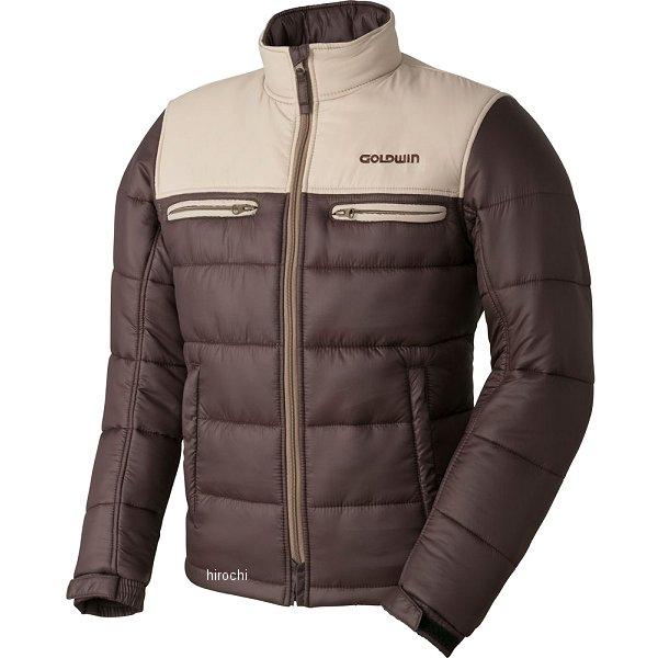 ゴールドウイン GOLDWIN 秋冬モデル ウォームキルトジャケット タン/ブラウン Mサイズ GSM22758 HD店