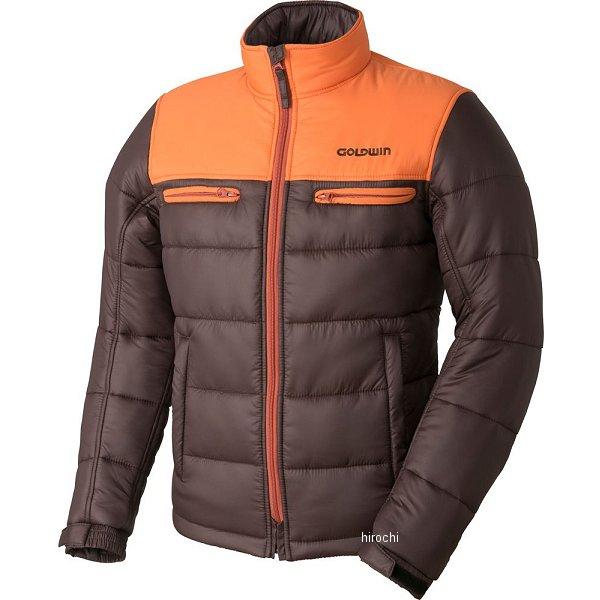 ゴールドウイン GOLDWIN 秋冬モデル ウォームキルトジャケット オレンジ/ブラウン BLサイズ GSM22758 HD店