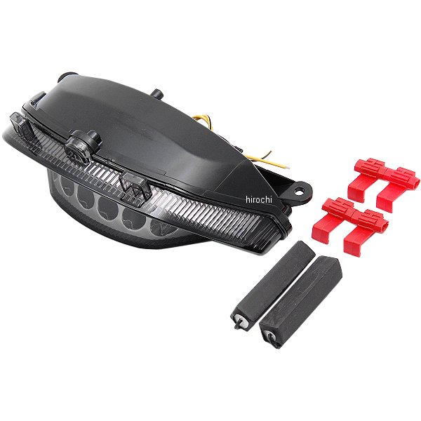 【USA在庫あり】 バイクマスター BikeMaster テールライト 09年-13年 VMX1700 V-Max スモーク 261981 HD
