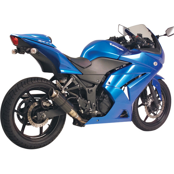 【USA在庫あり】 ホットボディーズ Hotbodies Racing スリップオンマフラー MGP 08年-12年 Ninja250R ステン/カーポン/ステン 1811-2077 HD