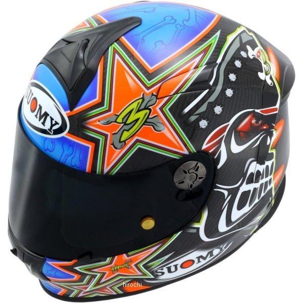 【メーカー在庫あり】 SSR0026スオーミー SUOMY フルフェイスヘルメット SR-SPORT カーボン ビアッジXLサイズ(61cm-62cm) 青 SSR002604 HD店