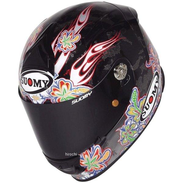【メーカー在庫あり】 SSRX002スオーミー SUOMY フルフェイスヘルメット SR-SPORT カーボン フラワーXLサイズ(61cm-62cm) SSRX00204 HD店