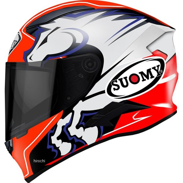 SVR0020スオーミー SUOMY フルフェイスヘルメット スピードスター ゼロフォーMサイズ(57cm-58cm) SVR002002 HD店