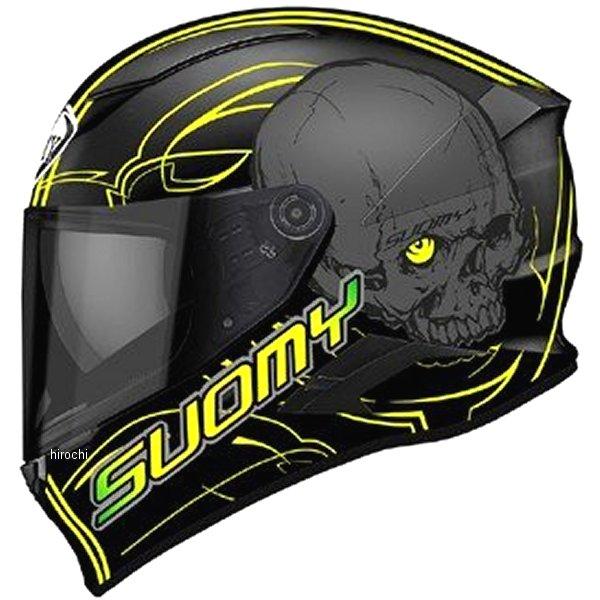 SVR0012スオーミー SUOMY フルフェイスヘルメット スピードスター アムレットLサイズ(59cm-60cm) 黄 SVR001203 HD店
