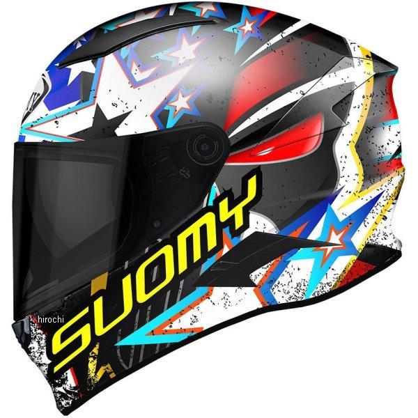 SVR0013スオーミー SUOMY フルフェイスヘルメット スピードスター アイウォンチュXLサイズ(61cm-62cm) SVR001304 HD店