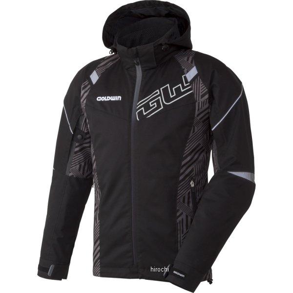 ゴールドウイン GOLDWIN 2017年秋冬モデル GWSマルチフーデッドオールシーズンジャケット 黒/ストライプ XLサイズ GSM22754 HD店