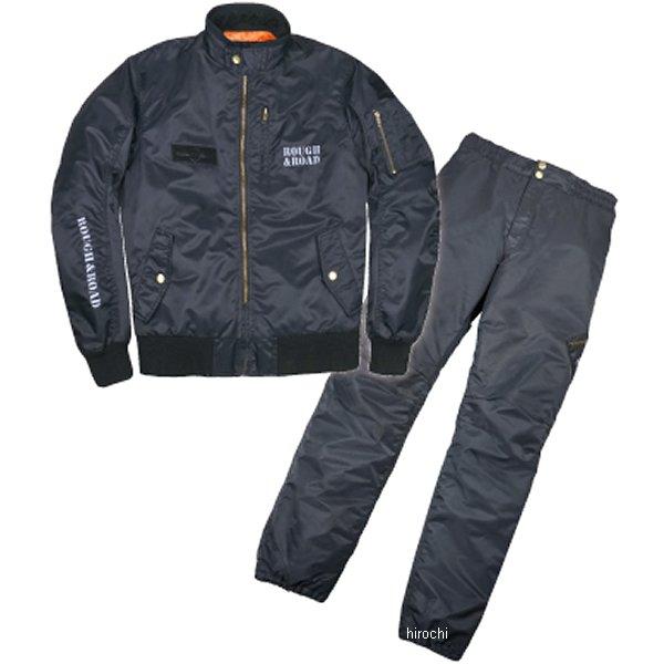 ラフ&ロード 秋冬モデル MA-1R ウインタースーツ FP 黒 Lサイズ RR7687BK3 HD店