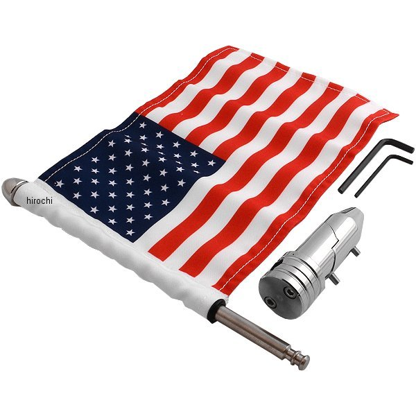【USA在庫あり】 プロパッド PRO PAD 折りたたみ 旗取付け 9インチ(229mm) ポール USA旗付き RFMFLD HD店