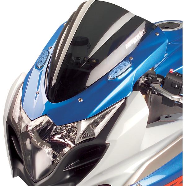 【USA在庫あり】 ホットボディーズ Hotbodies Racing ウインドシールド 速度重視形状 09年-11年 GSX-R1000 スモーク 2301-1061 HD店