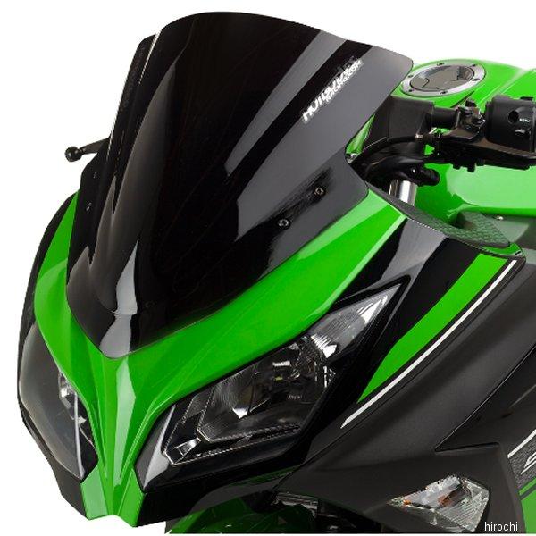【USA在庫あり】 ホットボディーズ Hotbodies Racing ウインドシールド 速度重視形状 13年以降 Ninja300 黒 2301-1666 HD店